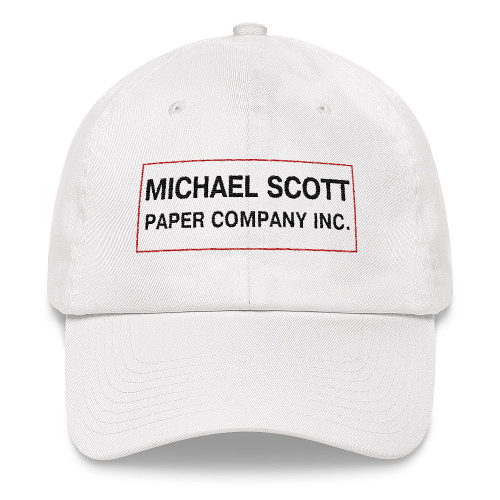 Michael Scott Paper Company Embroidered Dad hat