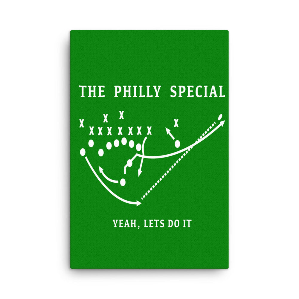 The Philly Special Canvas