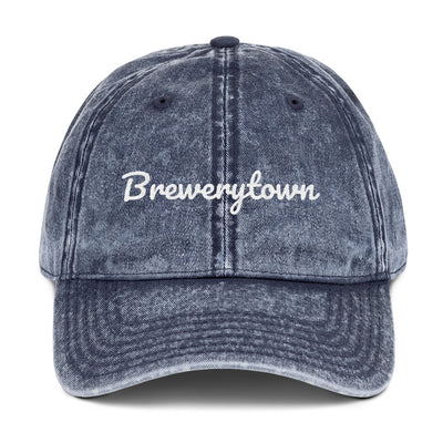 Brewerytown Philly Vintage Cotton Twill Cap