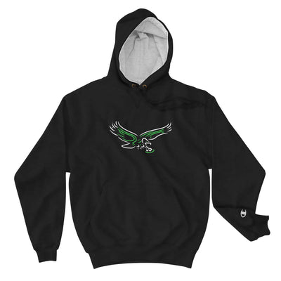 Retro Old School Neon Bird Philly Football Champion Collab Hoodie