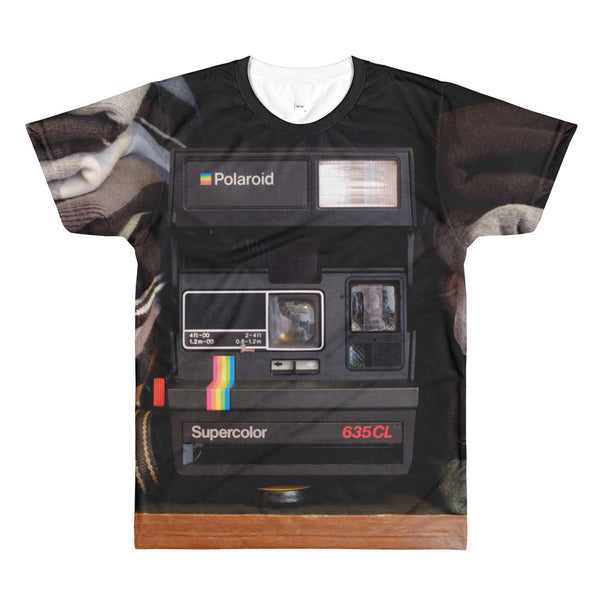 Polaroid All Over Sublimation Mens T-Shirt