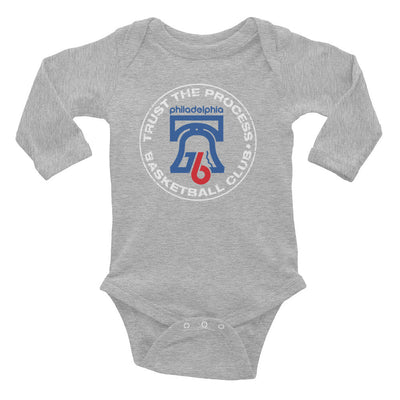 Trust Hoops Club Infant Long Sleeve One-Piece - Generation T