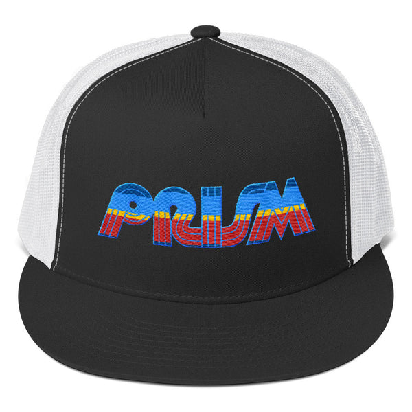 Retro Prism Television Embroidered Trucker Cap - Generation T