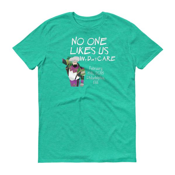 No One Likes Us We Don't Care Short-Sleeve T-Shirt - Generation T