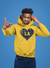 LA Heart Gold Unisex Hooded Sweatshirt
