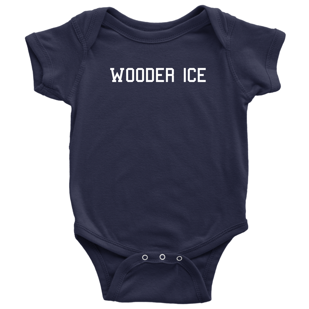 Wooder Ice College Infant Bodysuit