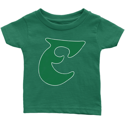 Old School Birds Big E Infant Tee Shirt