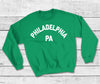 Retro Philadelphia PA Football Crewneck Pullover Sweatshirt