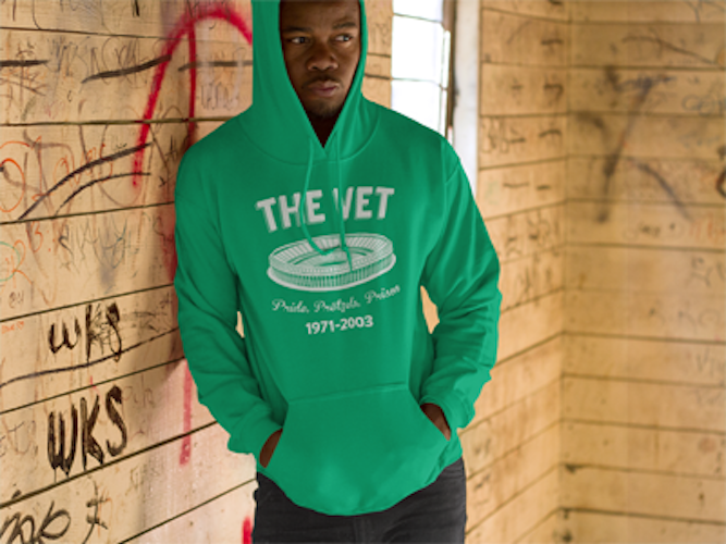 The Vet Retro Stadium Unisex Hoodie