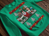 Retro Philadelphia Football Crewneck Ugly Christmas Sweatshirt - Generation T
