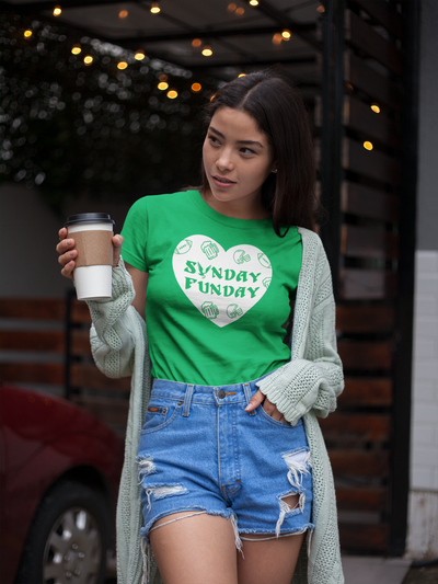 Philly Sunday Funday Heart Ladies' Triblend T-Shirt
