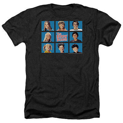 The Brady Bunch Framed Heathered Tee Shirt - Generation T
