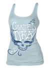Womens Grateful Dead Blue Rose Tank Top - Generation T