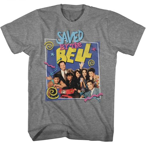Saved By The Bell Group Mr. Belding Mens T-Shirt - Generation T