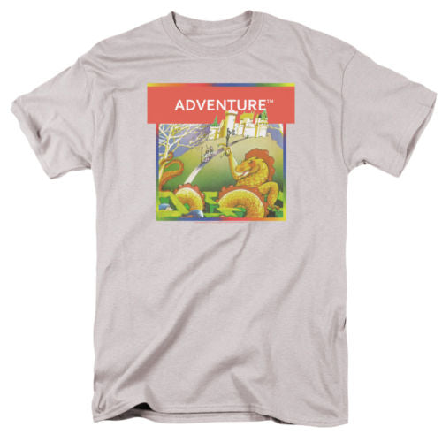 T-Shirts Sizes S-5XL New Authentic Mens Atari Adventure Box Art T-Shirt