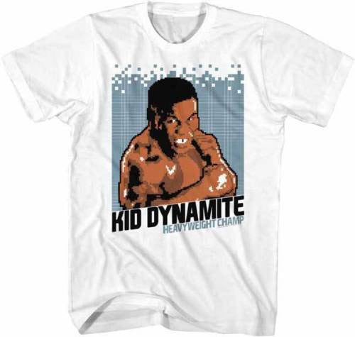 Mike Tyson 8 Bit Kid Dynamite Mens T-Shirt - Generation T