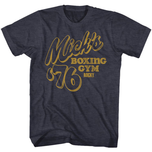 Mens Rocky Retro Mick's Tee Shirt