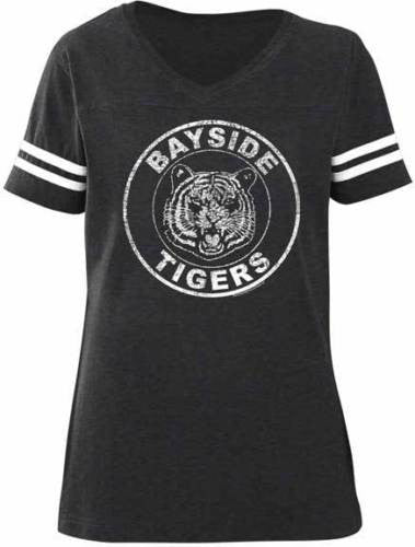 Saved by The Bell Bayside Tigers Juniors Football T-Shirt - Generation T