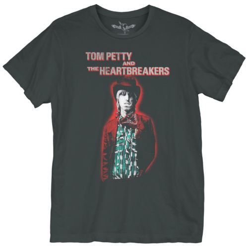 Unisex Tom Petty & The Heartbreakers Glow Tee Shirt