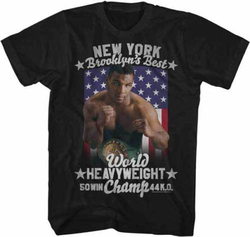 Mike Tyson Flag Mens T-Shirt - Generation T