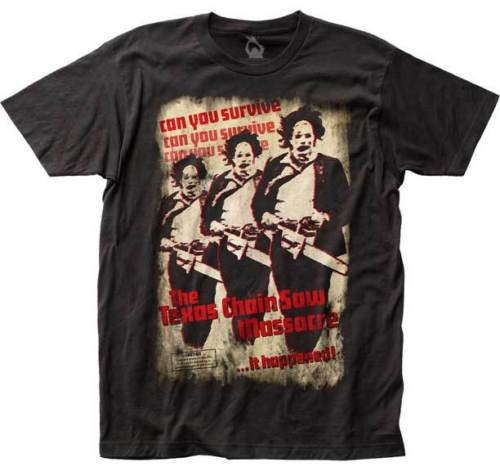 Mens Texas Chainsaw Massacre It Happened T-Shirt