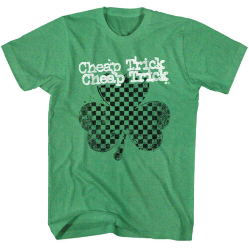Mens Cheap Trick Shamrock T-Shirt in Green