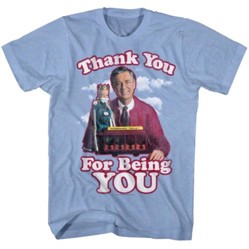 Mister Rogers Thank You Mens T-Shirt - Generation T