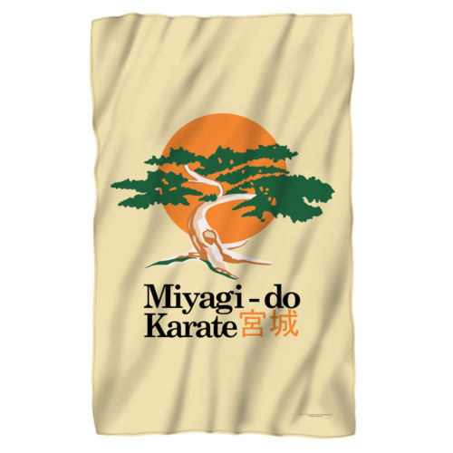 The Karate Kid Miyagi Do Karate Fleece Blanket