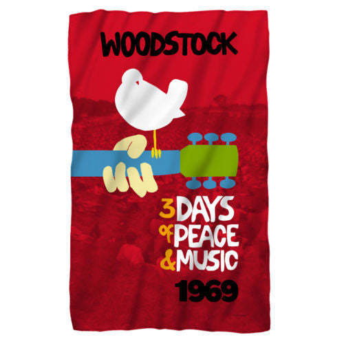 Woodstock Classic Fleece Blanket - Generation T