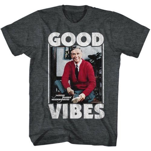 Mister Rogers Good Vibes Mens T-Shirt - Generation T