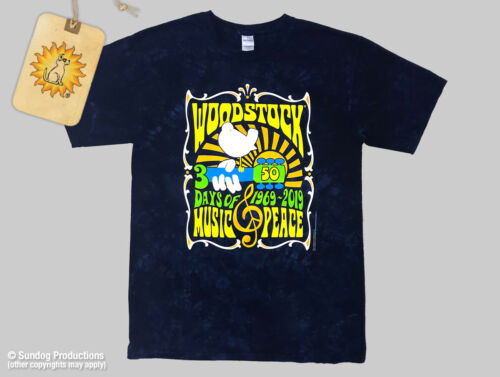 Mens Woodstock 50th Anniversary T-Shirt