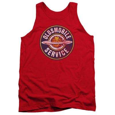 Mens Oldsmobile Vintage Service Tank Top