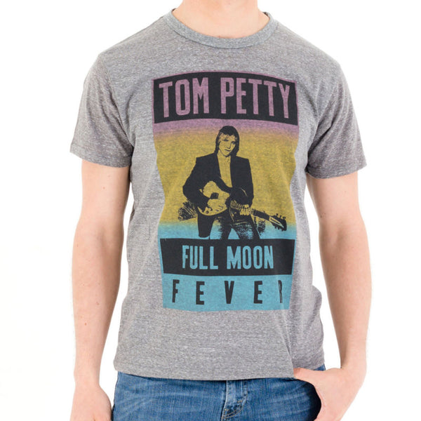 Mens Tom Petty Full Moon Fever Tri Blend Tee Shirt