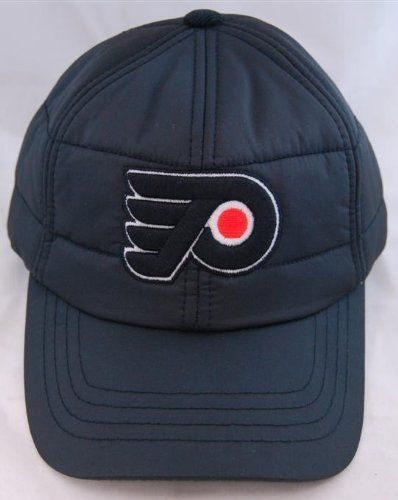 9fcc0cba Philadelphia Flyers Outdoorsman Black Cap Quilted .. - Generation T