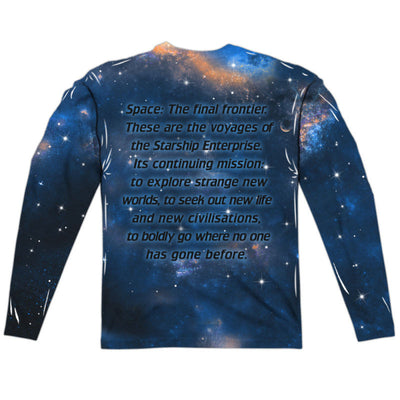 Star Trek Next Generation Enterprise Long Sleeve Sublimation Shirt - Generation T - 2