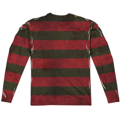 Nightmare on Elm Street Freddy Sweater Long Sleeve Sublimation Shirt - Generation T