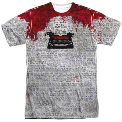 Mens The Shining All Work Vibrant Sublimation TShirt - Generation T