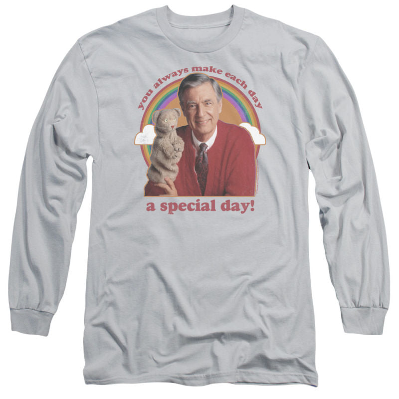 Mister Rogers A Special Day Long Sleeve Tee