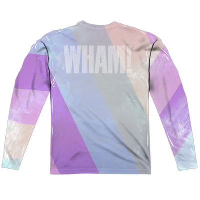 Wham Pastel Lines Long Sleeve Sublimation Shirt