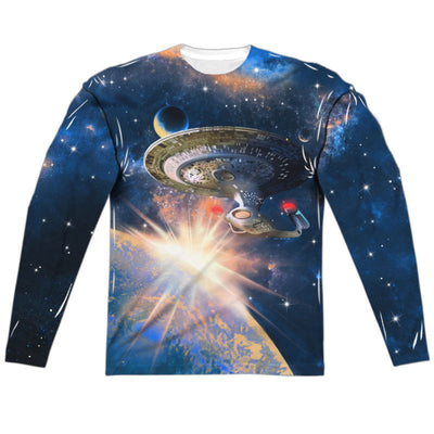 Star Trek Next Generation Enterprise Long Sleeve Sublimation Shirt - Generation T - 1