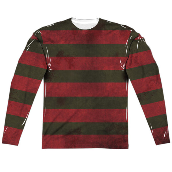Nightmare on Elm Street Freddy Sweater Long Sleeve Sublimation Shirt