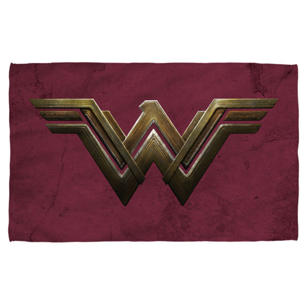 Wonder Woman The Movie Emblem Sublimation Beach Towel - Generation T