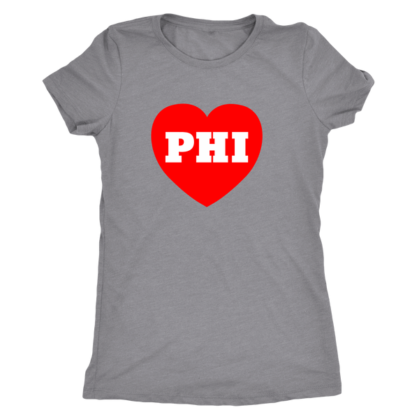 Philly Love Baseball Edition Tri Blend Tee - Generation T