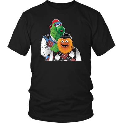 Mascot Brothers Gift Set - 1 Adult Tee and 1 Youth Tee