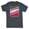 Retro Brooklyn Americans Tri Blend Tee Shirt - Generation T