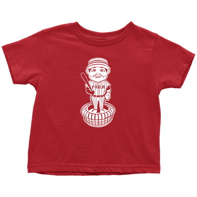 Retro Philadelphia Baseball Bobblehead Kids Tee - Generation T
