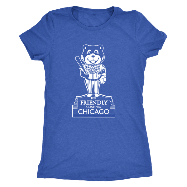 The Friendly Confines Womens Tri Blend T-Shirt