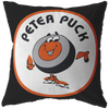Retro Peter Puck Pillow