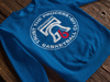 Trust Hoops Club Royal Pullover Sweatshirt - Generation T