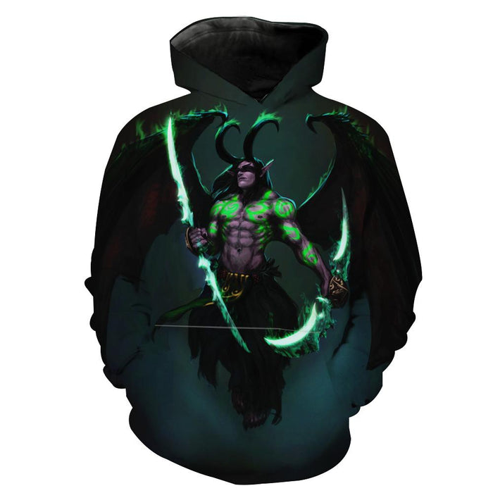 Illidan Hoodies